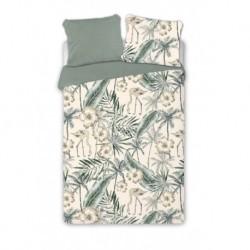 Bavlnené francúzske obliečky - Plameniaky - 220 x 200 cm - Faro