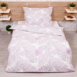 Bavlnené obliečky - Irina - fialová - 140 x 200 cm