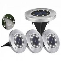 Solárne záhradné LED svetlá - 4 ks