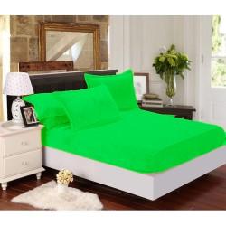 Mikroflanelové prestieradlo Elegance - svetlo zelené - BedStyle