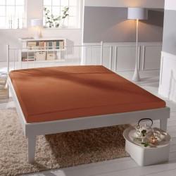 Microtop prestieradlo - tehlové - BedStyle