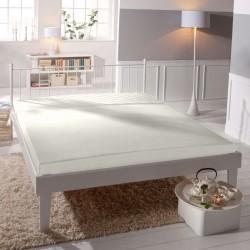 Microtop prestieradlo - biele - BedStyle