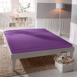 Microtop prestieradlo - fialové - BedStyle