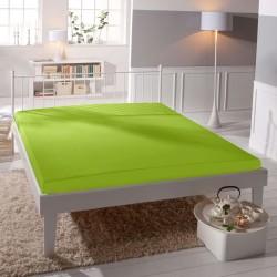 Microtop prestieradlo - kiwi - BedStyle