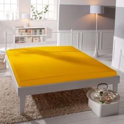 Microtop prestieradlo - žltooranžové - BedStyle