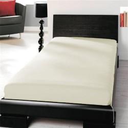 Microtop prestieradlo - smotanové - BedStyle