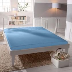 Microtop prestieradlo - svetlo modré - BedStyle