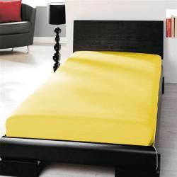 Microtop prestieradlo - žlté - BedStyle