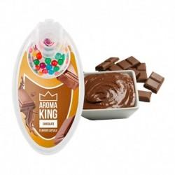 Praskacie guľky Aroma King - Čokoláda - 100 ks