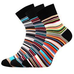 Ponožky Jana 53 - mix - 3 páry - Boma