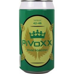 Ponožky PiVoXX + čierna plechovka - 1 pár - VoXX