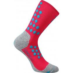 Kompresní ponožky Finish - neon ružové - 1 pár - VoXX