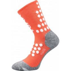 Kompresné ponožky Finish - lososové - 1 pár - VoXX