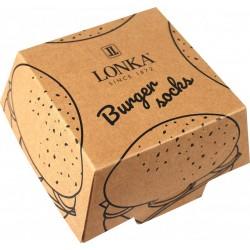 Ponožky - Hamburger - 2 páry - Lonka