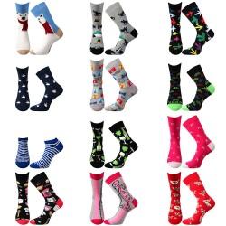 Tucet ponožek - dámské - 12 párov - Lonka + VoXX + Boma