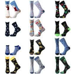 Tucet ponožek - pánské - 12 párov - Lonka + VoXX + Boma