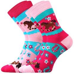 Ponožky Horsik - mix - 2 páry - Boma