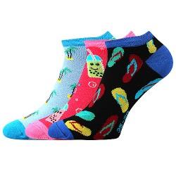 Ponožky Piki 64 - mix A - 3 páry - Boma