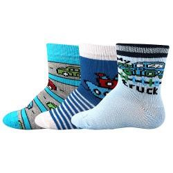 Ponožky Bejbik - mix A - chlapec - 3 páry - Boma