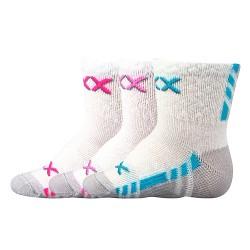 Ponožky Piusinek - mix D - dievča - 3 páry - VoXX