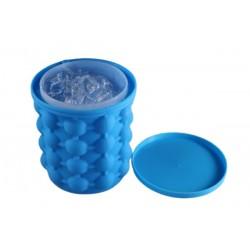 Silikónový výrobník kociek ľadu a chladič nápojov - 12 x 13 cm