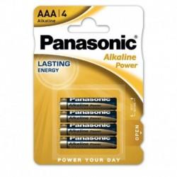 Mikrotužkové batérie Bronze - 4x AAA - Panasonic
