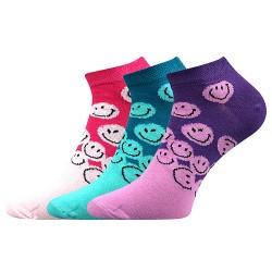 Ponožky Piki - detské - 42 mix A - dievča - 3 páry - Boma