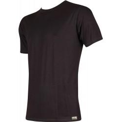 Bambusové tričko - čierne - Lonka
