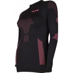 Dámské funkčné tričko AP06 - dlhý rukáv - čierne - VoXX