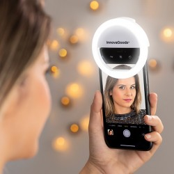 Prisvetľovacia lampička na telefón pre youtuberov Instahoop - InnovaGoods