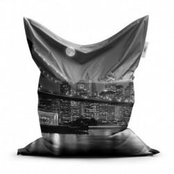 Sedací vak - Nočný New York - 150 x 100 cm - Sablio
