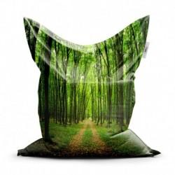 Sedací vak - Cesta v lese - 150 x 100 cm - Sablio