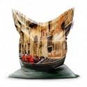 Sedací vak - Benátky - 150 x 100 cm - Sablio
