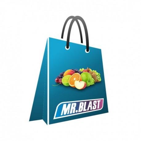 Ovocná súprava praskacích guliek Mr. Blast - 1000 ks