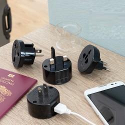 Univerzálny cestovný adaptér na zásuvku Electrip - InnovaGoods