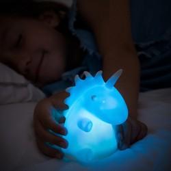 Farebný svietiaci jednorožec - LED - InnovaGoods